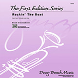 Ciechomski Rockin' The Boat - Trombone 1 arte de la cubierta