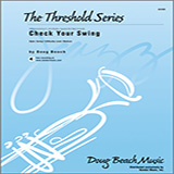 Beach Check Your Swing - Trombone 1 cover kunst
