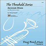 Doug Beach Acronym Blues - 3rd Trombone arte de la cubierta