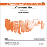 Partition autre Change Up (based on I Got Rhythm by George Gershwin) - Solo Sheet - Trumpet de Carl Strommen - Ensemble Jazz
