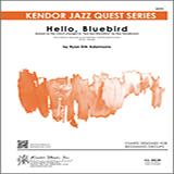 Partition autre Hello, Bluebird (based on Bye Bye Blackbird) - Drum Set de Ryan Erik Adamsons - Ensemble Jazz