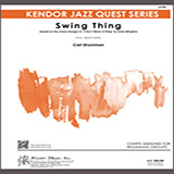 Swing Thing - Jazz Ensemble Bladmuziek