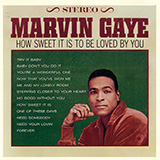 Marvin Gaye How Sweet It Is (To Be Loved By You) l'art de couverture