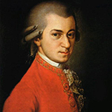 Wolfgang Amadeus Mozart Minuet In G Major, K. 1 cover kunst