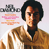 Neil Diamond Sweet Caroline cover kunst