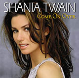 Shania Twain You're Still The One arte de la cubierta