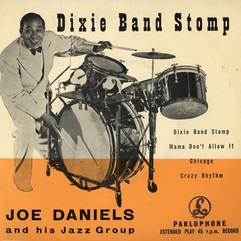 Joe Daniels Dixie Band Stomp cover art