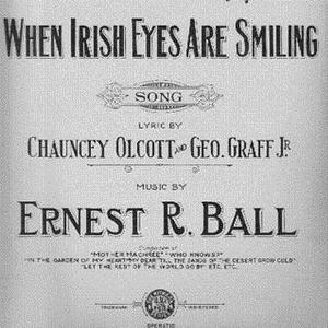 Ernest R. Ball When Irish Eyes Are Smiling cover art
