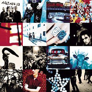 U2 So Cruel cover art