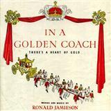 Ronald Jamieson In A Golden Coach l'art de couverture