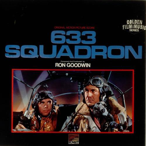 Ron Goodwin 633 Squadron cover art