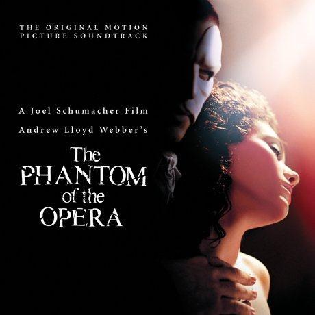 Andrew Lloyd Webber The Phantom Of The Opera cover art