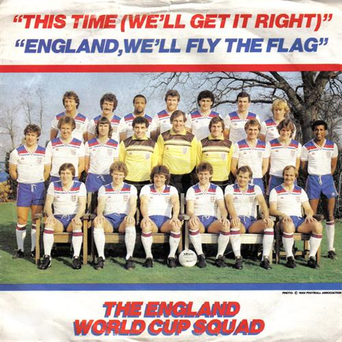 England World Cup Squad This Time (We'll Get It Right) cover art