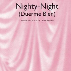 Leslie Beacon Nighty-Night (Duerme Bien) cover art