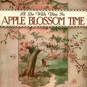 Albert Von Tilzer I'll Be With You In Apple Blossom Time cover art