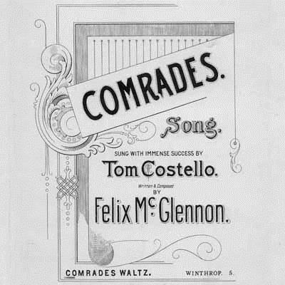 Felix McGlennon Comrades cover art