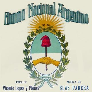 Jose Blas Parera Himno Nacional Argentino (Argentinian National Anthem) cover art