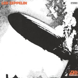 Led Zeppelin Good Times Bad Times cover art