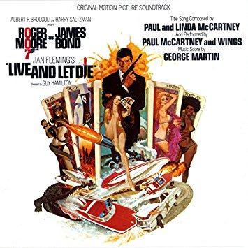 Paul McCartney & Wings Live And Let Die cover art