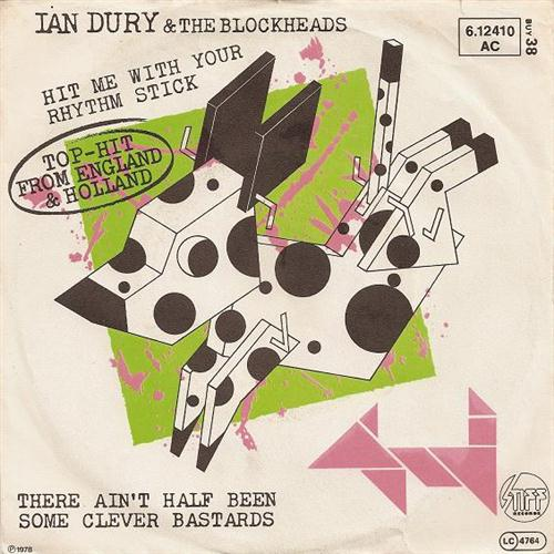 Ian Dury & The Blockheads Hit Me With Your Rhythm Stick cover art