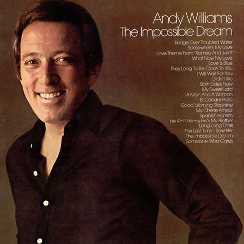 Andy Williams The Impossible Dream cover art