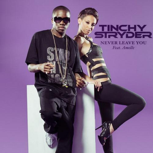 Tinchy Stryder Never Leave You (feat. Amelle) cover art
