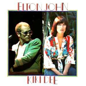 Elton John Don't Go Breaking My Heart cover art