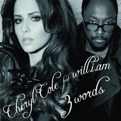 will.i.am 3 Words (feat. Cheryl) cover art
