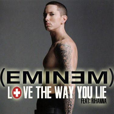 Eminem Love The Way You Lie (feat. Rihanna) l'art de couverture