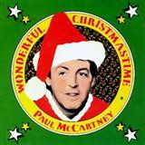 Paul McCartney Wonderful Christmastime cover kunst