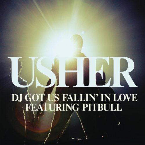 Usher DJ Got Us Fallin' In Love (feat. Pitbull) cover art