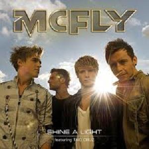 McFly Shine A Light (feat. Taio Cruz) cover art