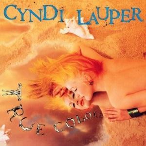 Cyndi Lauper True Colours cover art