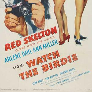 Gene de Paul Watch The Birdie cover art
