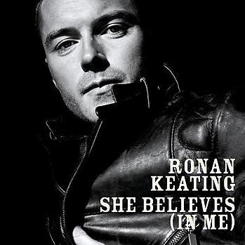 Ronan Keating She Believes (in Me) cover art