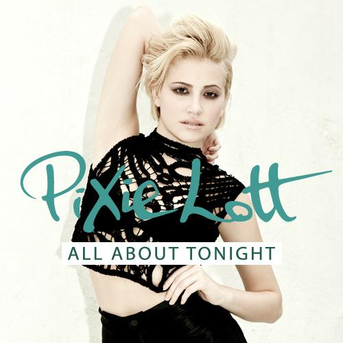 Pixie Lott All About Tonight cover art