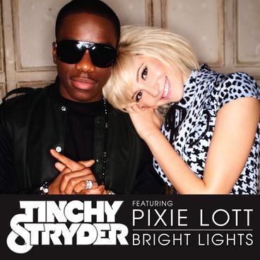 Tinchy Stryder Bright Lights (feat. Pixie Lott) cover art