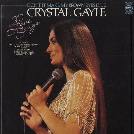 Crystal Gale Don't It Make My Brown Eyes Blue cover art