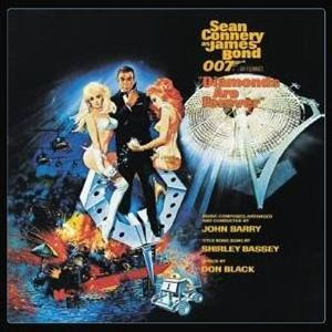 Shirley Bassey Diamonds Are Forever cover art