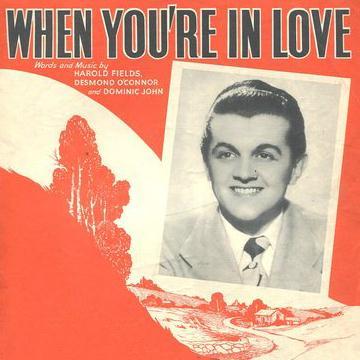 Harold Fields When You're In Love cover art
