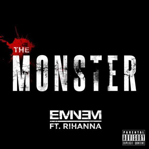 Eminem The Monster (feat. Rihanna) l'art de couverture
