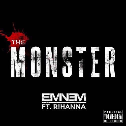 Eminem The Monster (feat. Rihanna) cover art