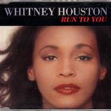 Whitney Houston Run To You cover art