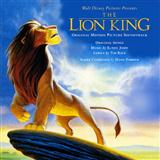Elton John Hakuna Matata (from The Lion King) cover kunst