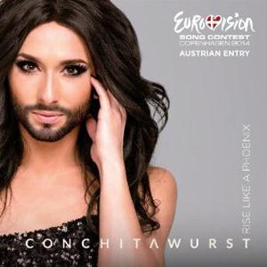 Conchita Wurst Rise Like A Phoenix cover art