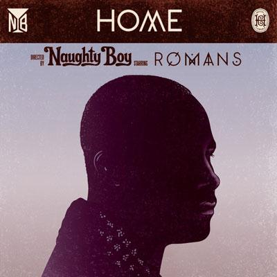 Naughty Boy Home (feat. Sam Romans) cover art