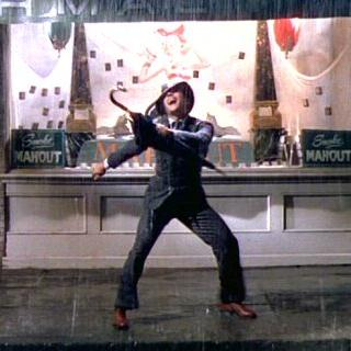 Gene Kelly Singin' In The Rain cover art
