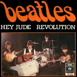 The Beatles Revolution (Single Version) cover art