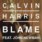 Calvin Harris Blame (feat. John Newman) cover art