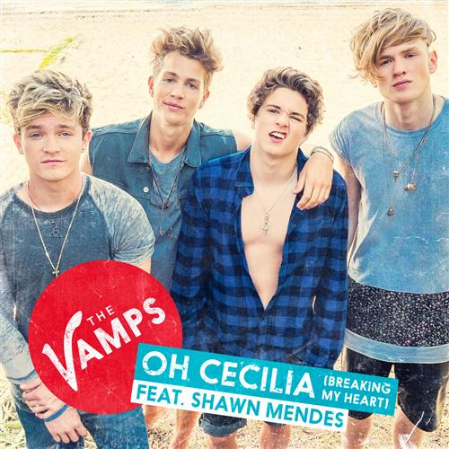 The Vamps Oh Cecilia (Breaking My Heart) cover art